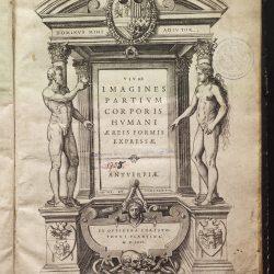 IX_A_3 Titulní list Vivae imagines partivm corporis hvmani
