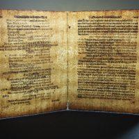 Filigrán síta použitého při výrobě papíru (strana 100 a 101), …